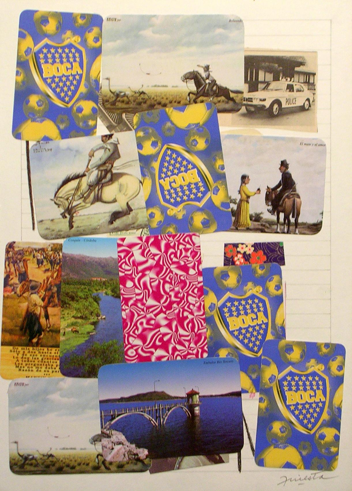 Ejercicios Cotidianos, Collage 34x24cm 2006 (26)
