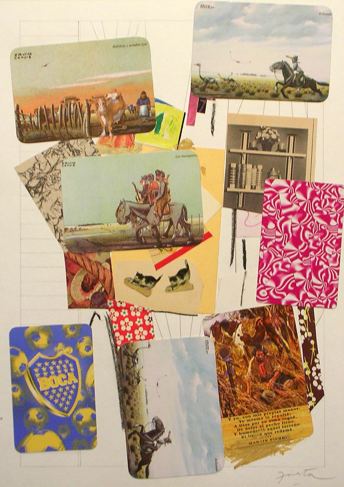 Ejercicios Cotidianos, Collage 34x24cm 2006 (29)