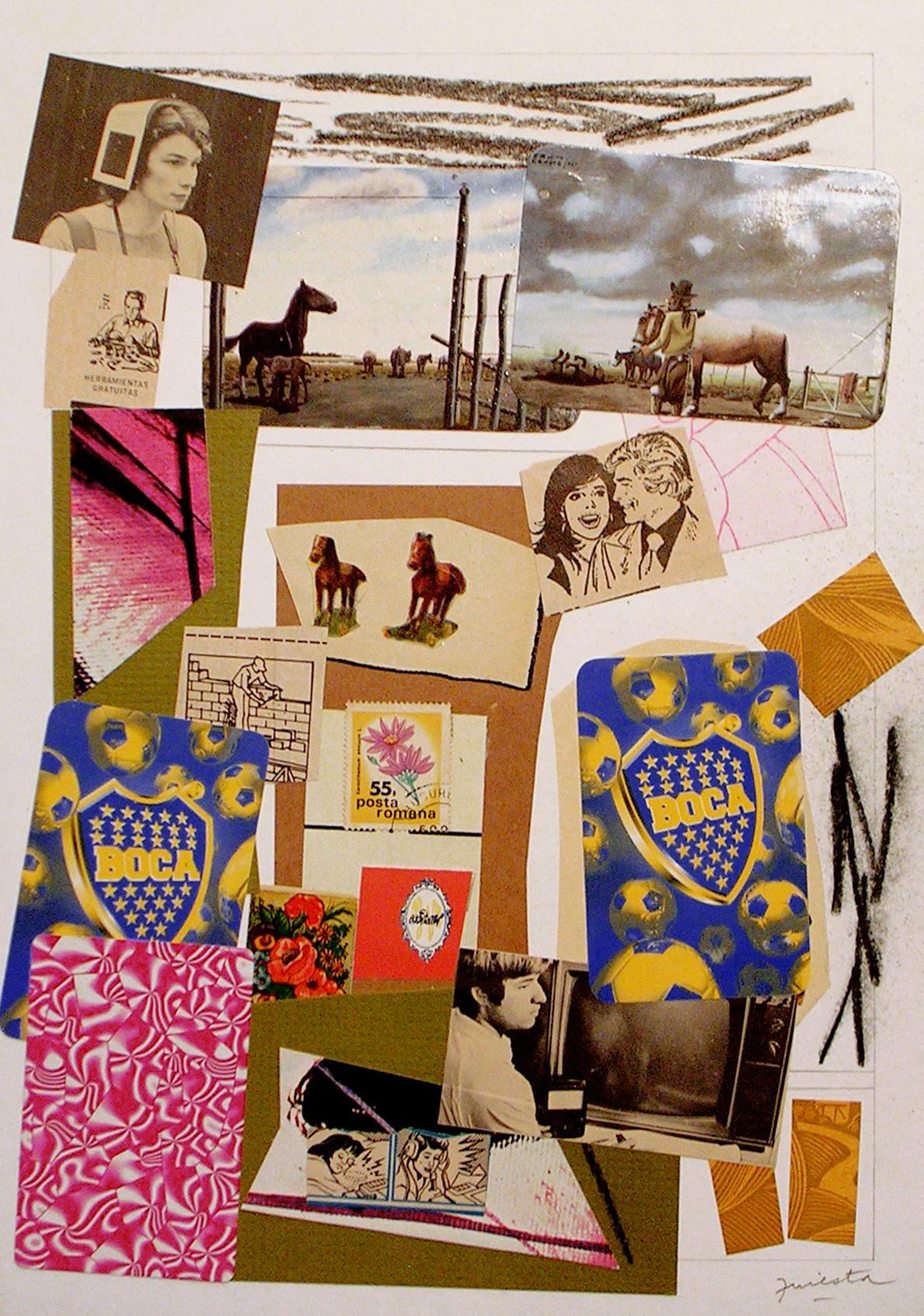 Ejercicios Cotidianos, Collage 34x24cm 2006 (3)