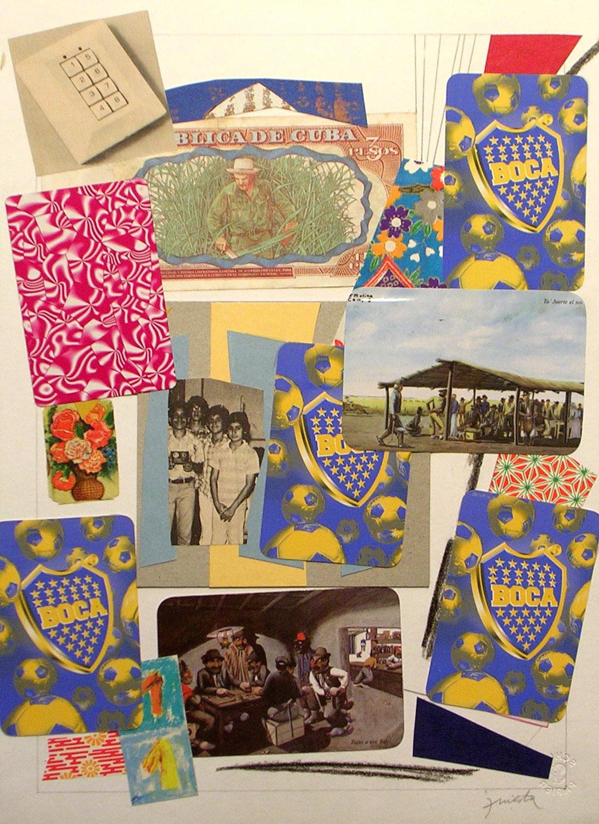 Ejercicios Cotidianos, Collage 34x24cm 2006 (6)