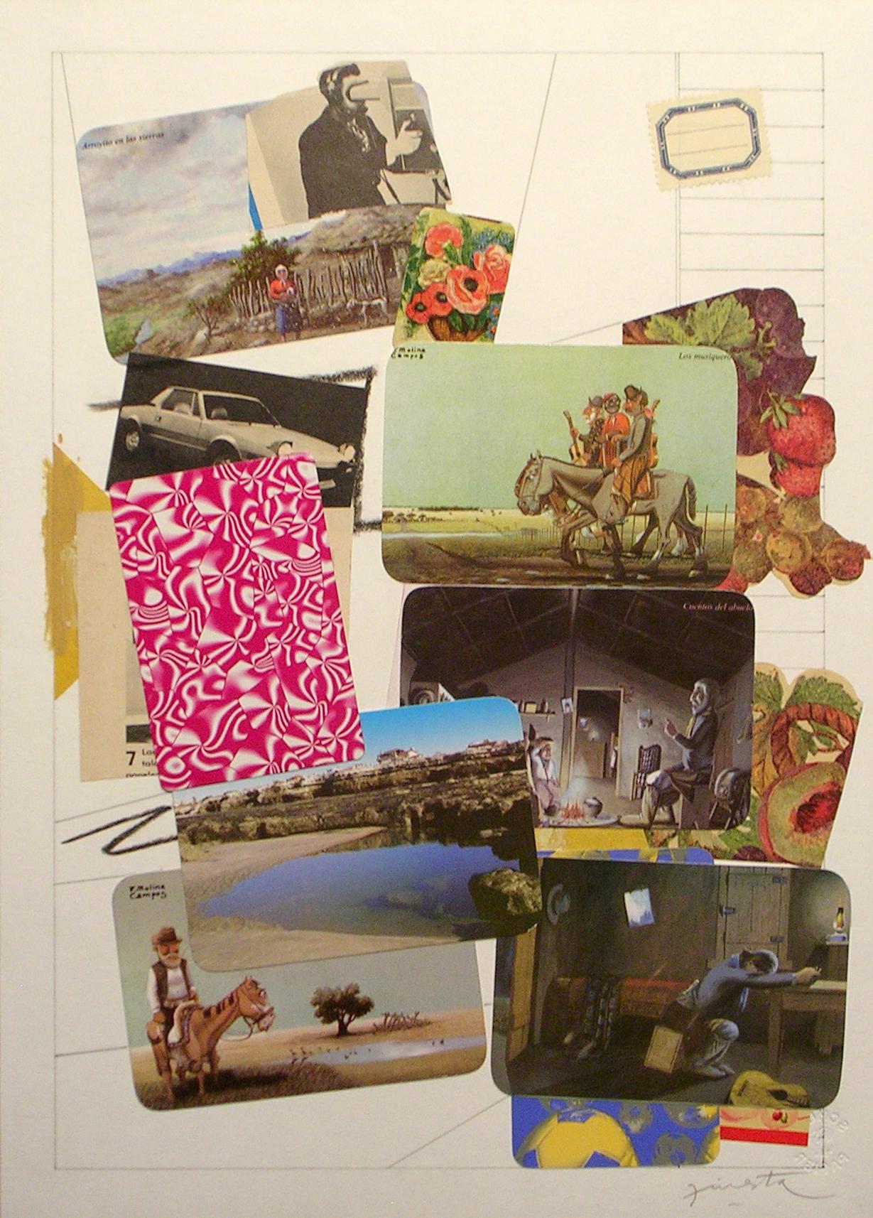 Ejercicios Cotidianos, Collage 34x24cm 2006 (8)