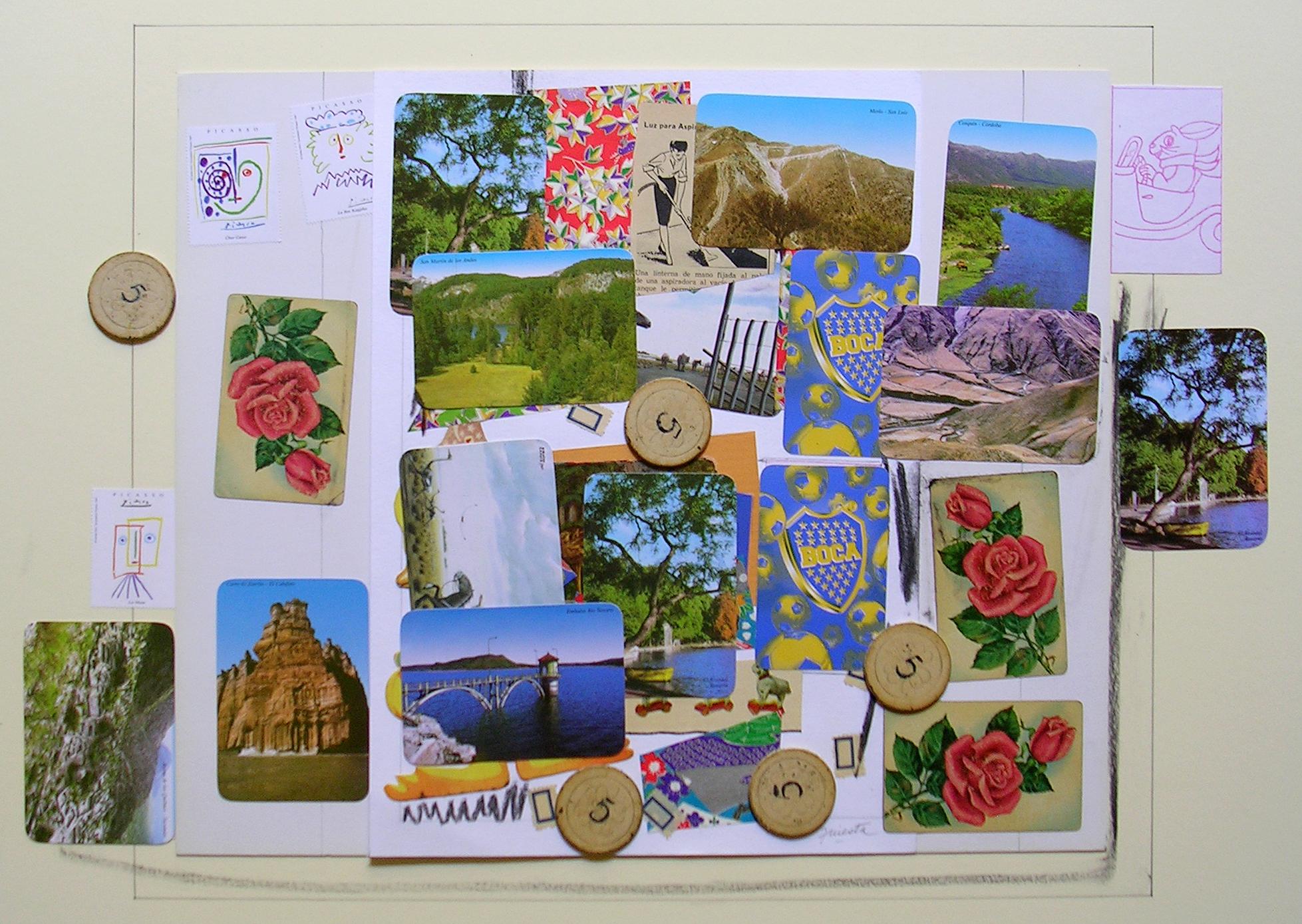 Ejercicios Cotidianos, Collage 34x41cm 2005 (2)