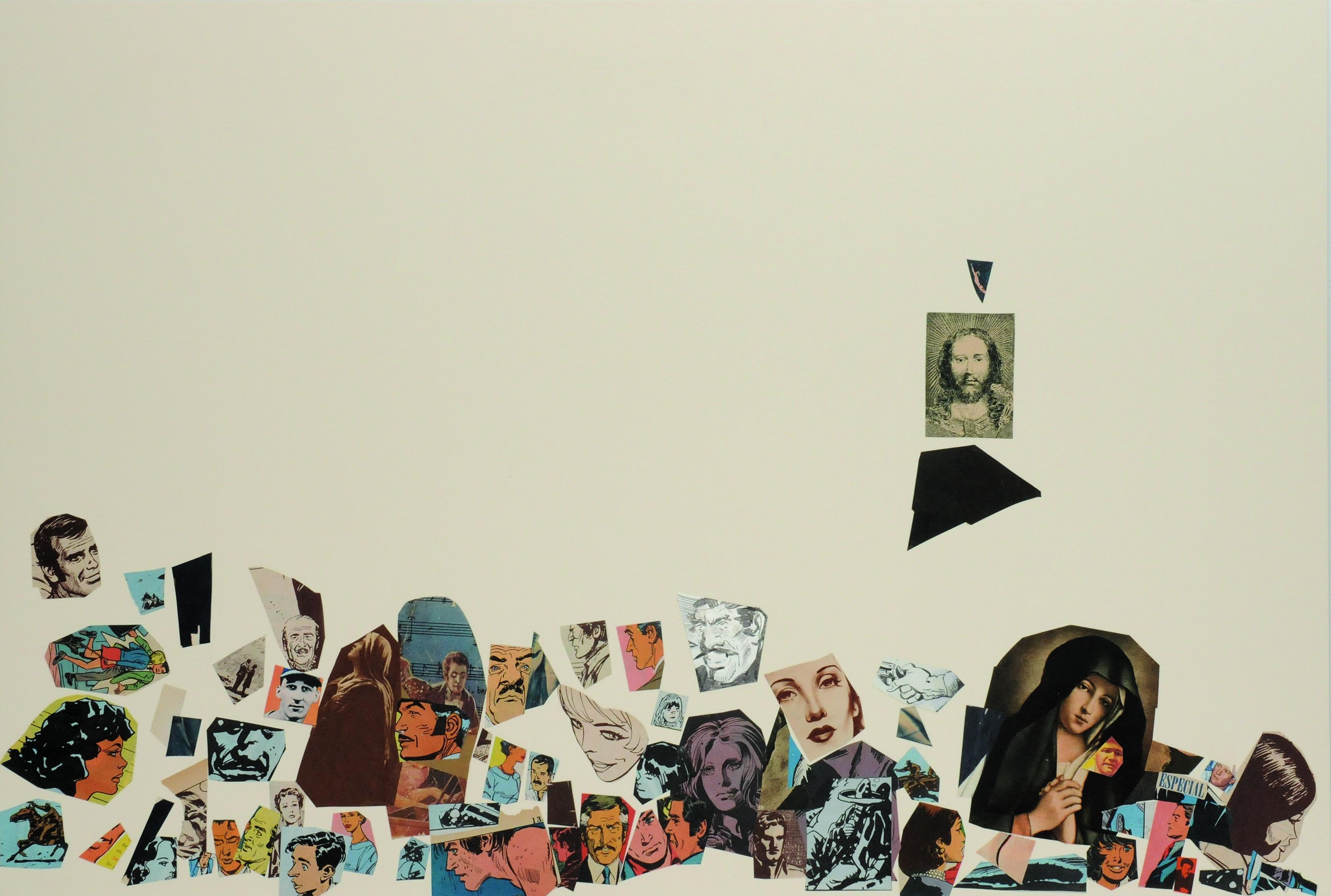 Especial, papel collage, 51 cm x 76 cm. 2008