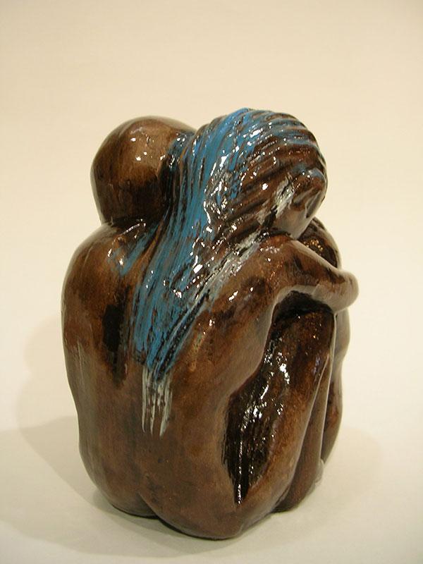 Pareja, 13 cm x 10 cm x 7 cm, 2005