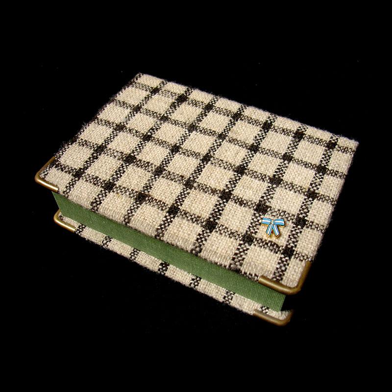 Caja verde, objetos ensamblados, 4 cm x 30 cm x 19 cm, 2006