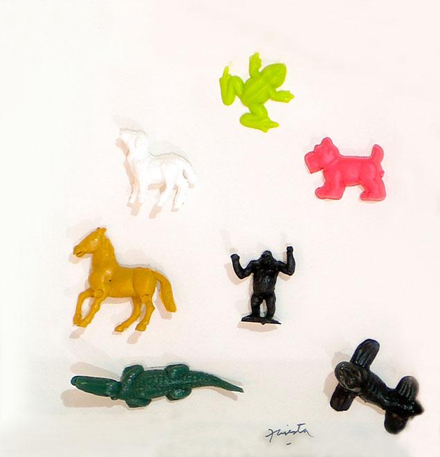 Animales, 21,5 cm x 21,5cm, 2002