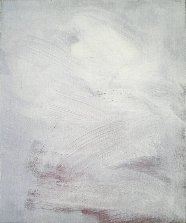 Paisaje, acrílico sobre tela, 60 cm x 50 cm, 1989