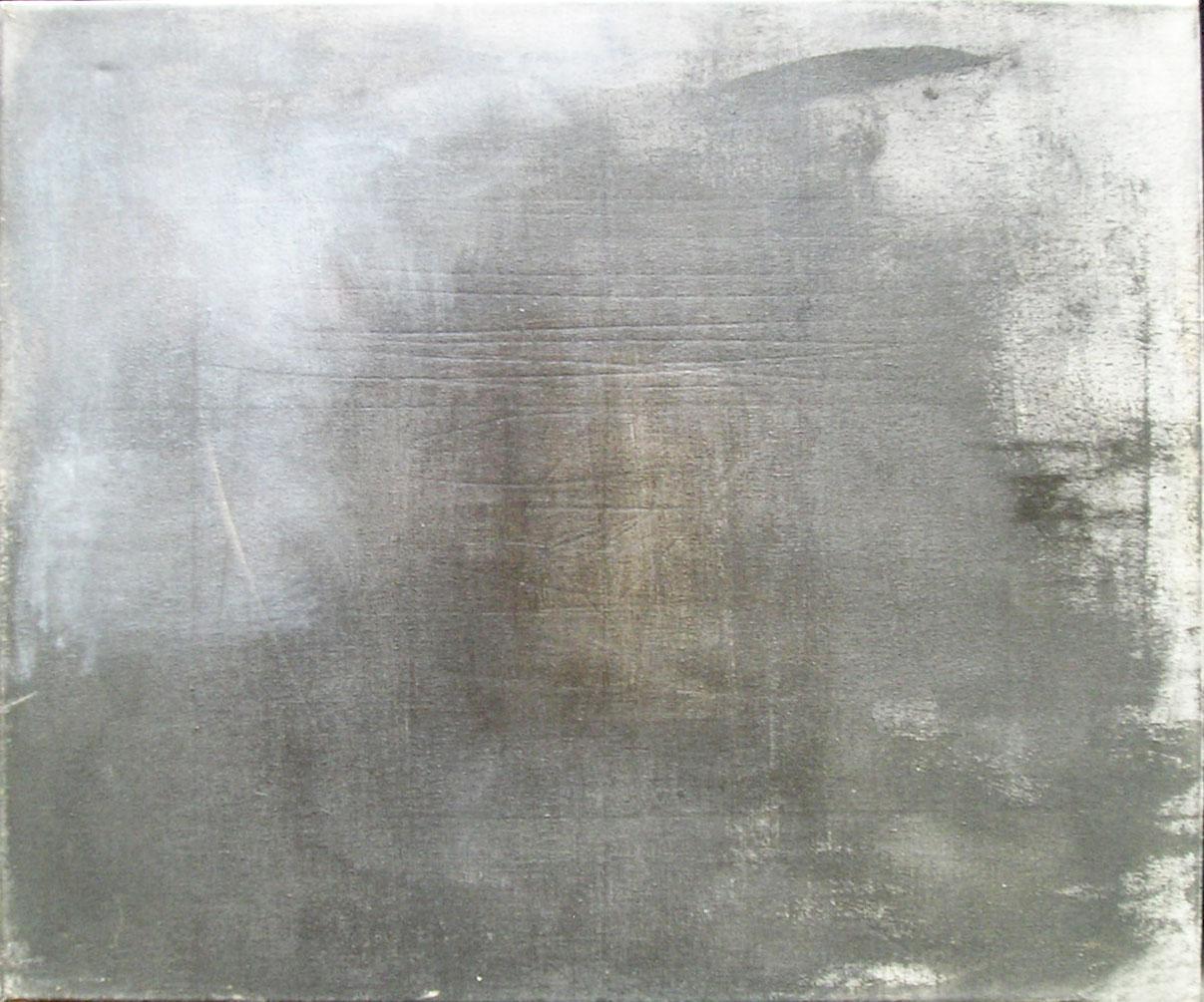 Paisaje, acrílico sobre tela, 50 cm x 70 cm, 1989