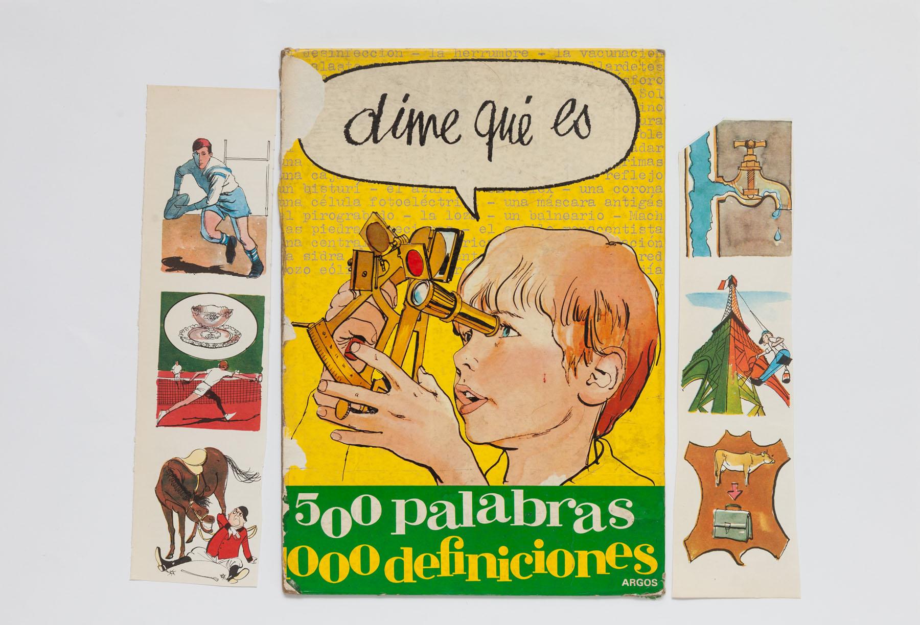 Serie Cuarentena, papel collage, 32 cm x 47 cm, 2020