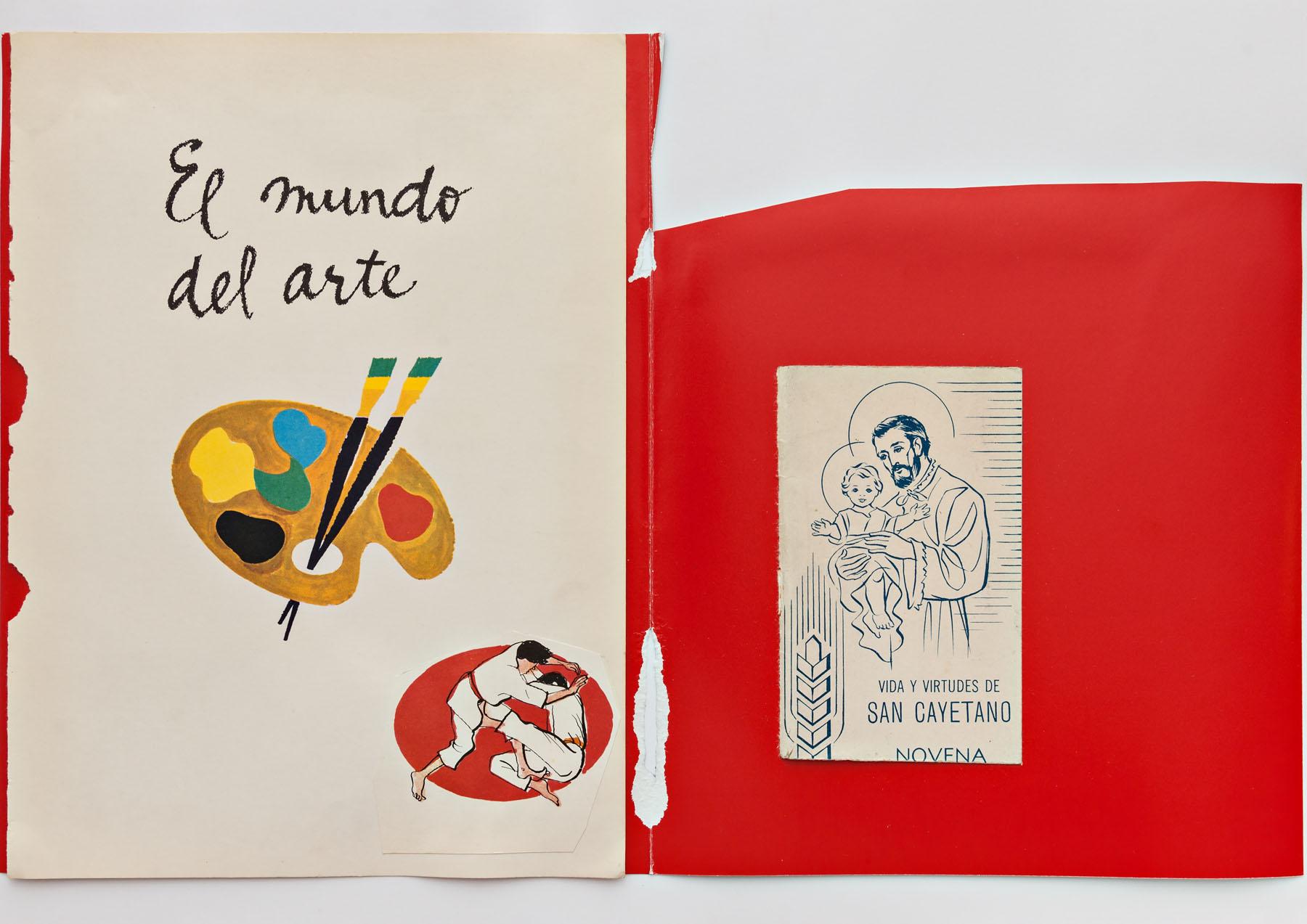 Serie Cuarentena, papel collage, 30 cm x 42 cm, 2020