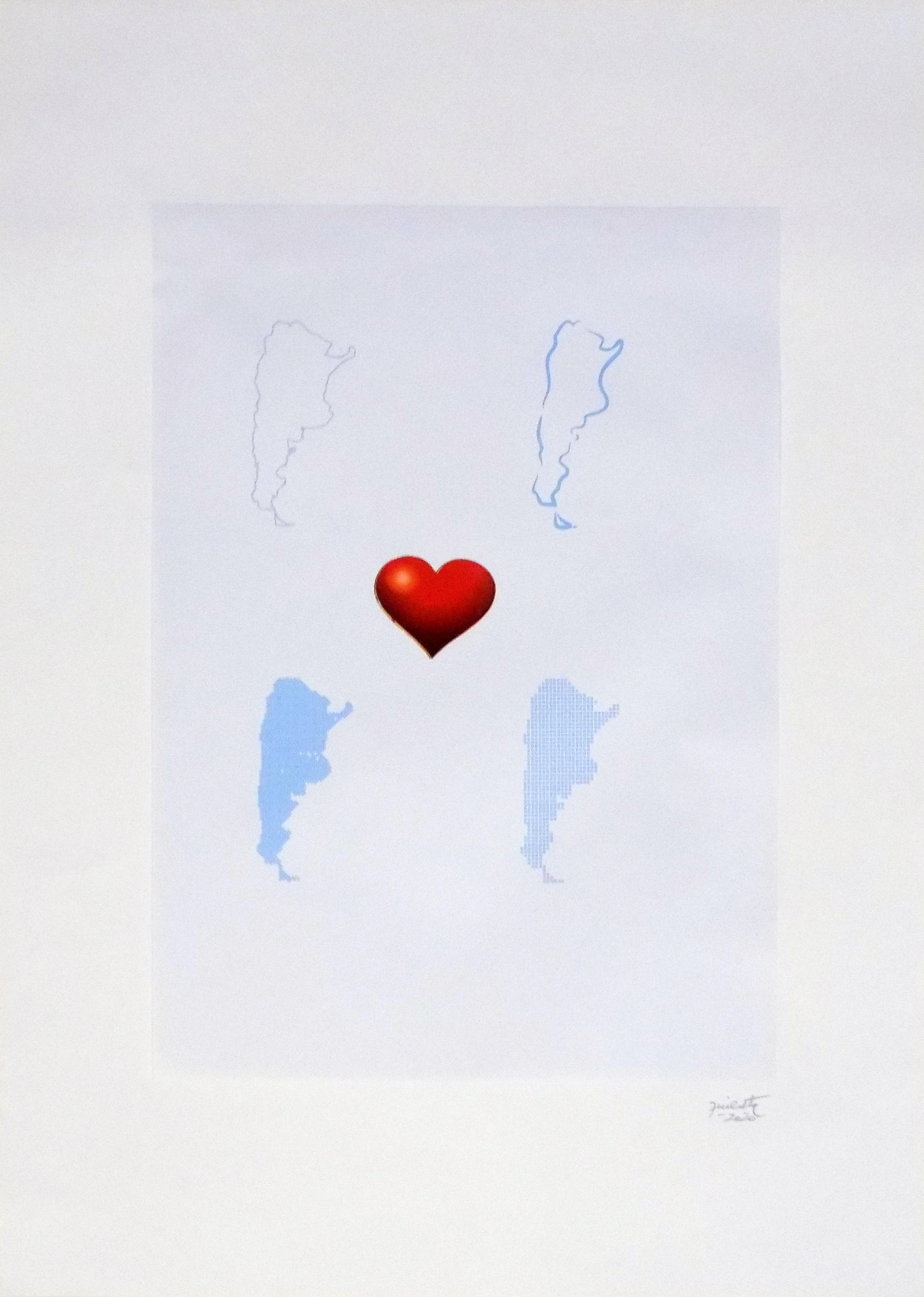 País cuatro versiones, serie La sutileza de la imagen_papel collage 30 cm x 22 cm 2020
