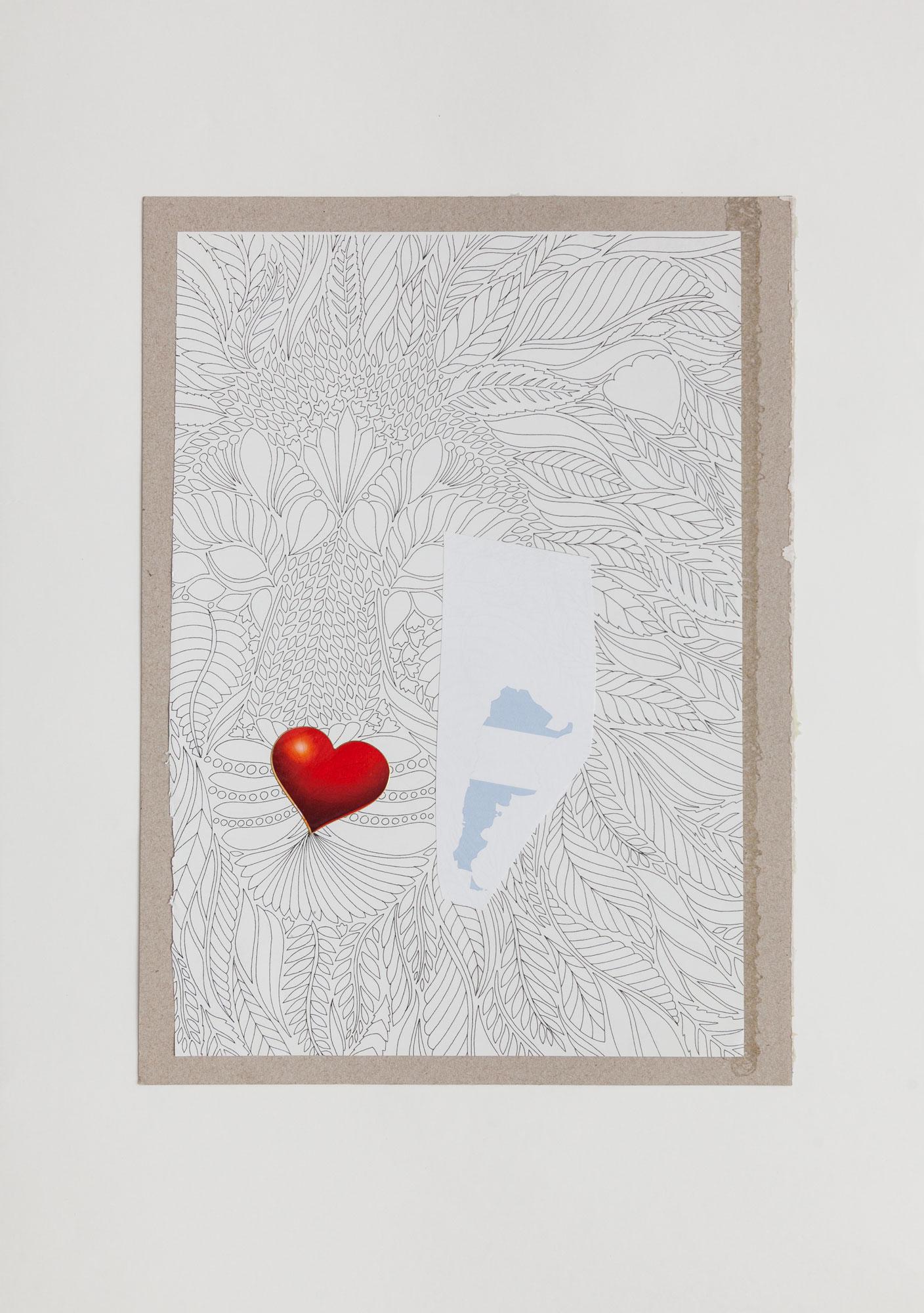 País, serie La sutileza de la imagen_papel collage 30 cm x 22 cm 2020